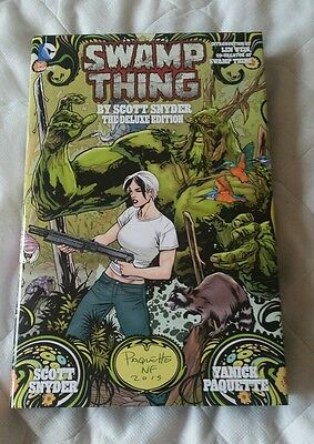 Swamp Thing hardcover Scott Snyder new 52 DC