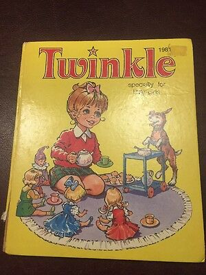 Twinkle Hardback Annual For Girls 1981