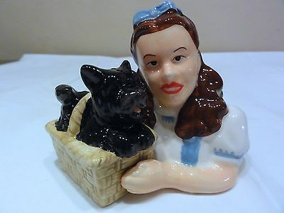 Wizard Of Oz Dorothy & Toto Salt & Pepper Shakers -- Beautiful Set