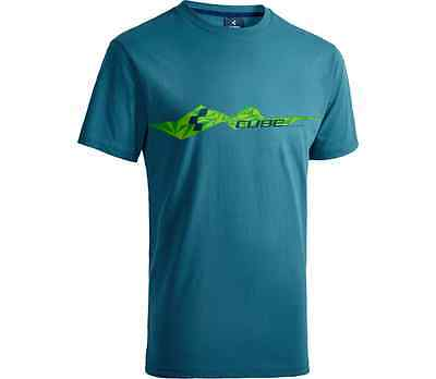 BRAND NEW CUBE Bikes T-Shirt Mountains Medium MTB Road Tshirt