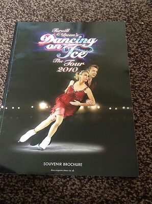 Torvill & Deans Dancing On Ice The Tour 2010 Programme