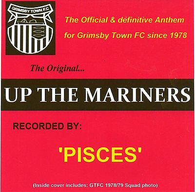 Grimsby Town FC Official Anthem 'Up The Mariners'CD