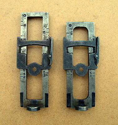 Original P14 and 30-06 Model 1917 service rifle rear sights