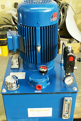 Hydraulic power unit 7.5 H.P. Electric 10 GPM Pump three phase OR ???