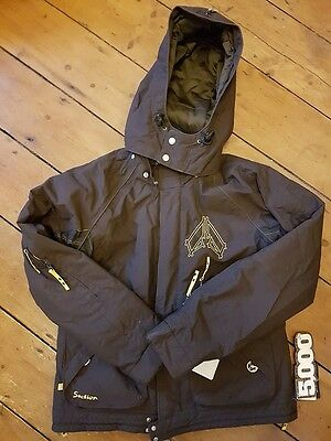 Section G-Layer Brown women's insulated ski/snowboard jacket Size M BNWT