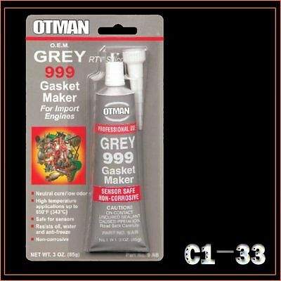 Rtv Silicone Gasket Maker Red High Temp Sealant 85G Tube Grey