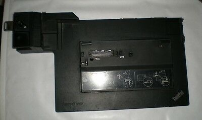 Lenovo ThinkPad 4338 Docking Station T410, T420, T510 X220 with Keys