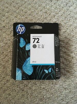Genuine Hp 72 Designjet Grey Ink Cartridge 69Ml Capacity - Hp 72 / C9401A