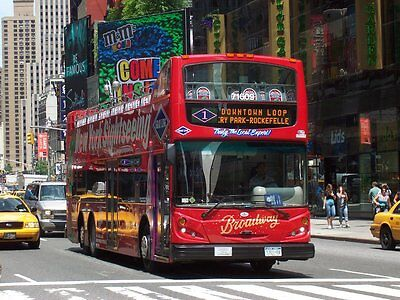 2 Two New York City Sightseeing Bus & Ferry Tour 48 Hours $136+ Value Gray Line