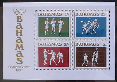 1984 Olympic Games, Los Angeles (MNH miniature sheet)