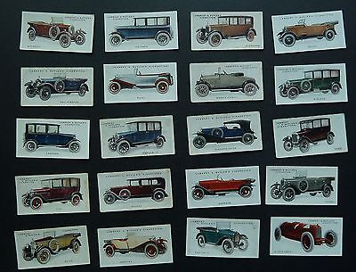 Cigarette Trade Cards:Lambert & Butler Motor Cars 3rd