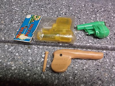 Sixfinger 1960's Toy and squirt Guns