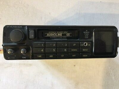 Vintage Audioline 416 Car Stereo Cassette Player VGC Prompt Shipping