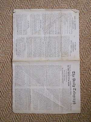 The Daily Telegraph 1926.  Fourth Strike Issue. General Strike.