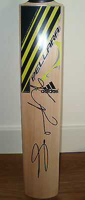 Kevin Pietersen Mbe Genuine Hand Signed Full Size Cricket Bat Inc Authenticity
