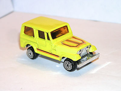 Vintage Kidco Jeep YELLOW **RED LIGHT SPECIAL**