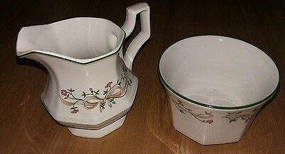Eternal Beau Milk Jug & Sugar Bowl