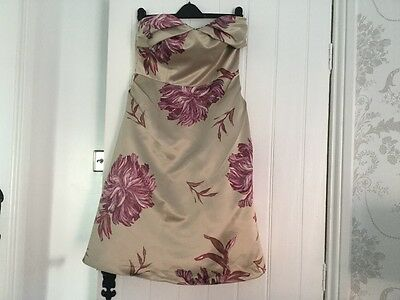ladies mother of the bride / party dress size 12