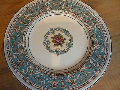 """Wedgwood 'Florentine' 7"""" Side Plate Pretty Turquoise"""