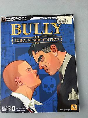Bully Scholarship Edition Strategy Guide Bradygames XBOX 360 Wii