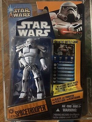 STAR WARS HASBRO - NEW ACTION FIGURE - Space trooper CW3 - THE CLONE WARS