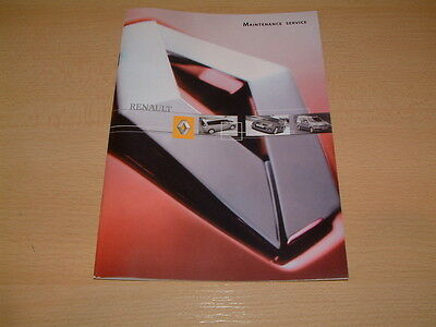 Renault  Service Book  Service History Book   New & Unused   All Renault Models