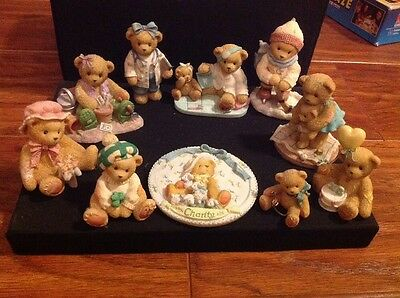 Cherished Teddies X10 job lot in excellent condition