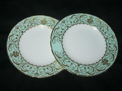 Royal Crown Derby Darley Abbey A1350 Pattern 2 x Dinner Plates (10.5 inches)