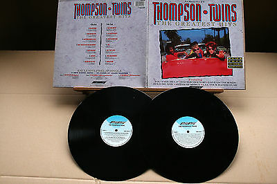 "THOMPSON TWINS-The Greatest Hits-/UK '90 (SMR 092) 1st press LP +free 12"" EP NM!"