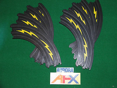 """Tomy AFX 8x 9"""" curves 1/4 circle track with markings"""