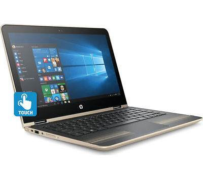 "HP Pavilion x360 13-u062sa 13.3"" 2 in 1 Laptop Gold Intel Core i5-6200U 8GB RAM"