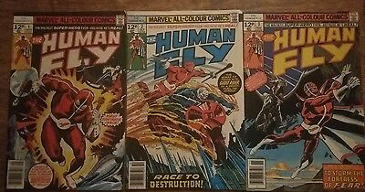 The Human Fly vol I # 1, 2 and 3