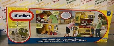 Little Tikes Cookin'/Cooking Creations Premium Wooden Play Kitchen - NEW & Boxed