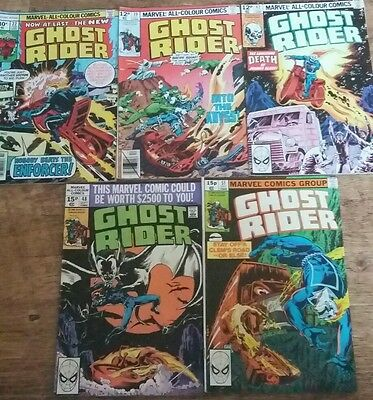 Marvel Ghost Rider vol I # 22, 39, 42, 48 and 51