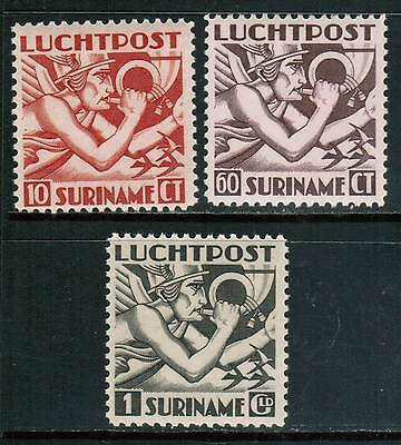 Surinam Air Mail 1941 Sc#C20-22, Allegory of Flight MNH** VF Complete cp5