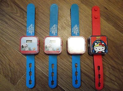 charlie brown toy watches x4 99p  99p  99p