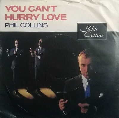 "Phil Collins - You Can't Hurry Love - 7"" Vinyl Record Picture Sleeve"