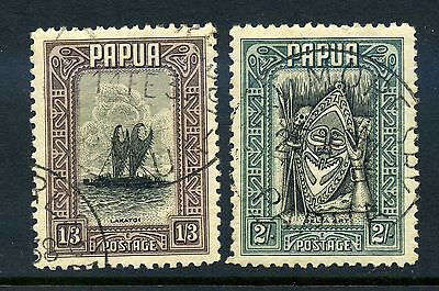 Papua 1932 pictorials selection fine used.