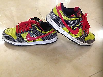 Nike Dunk Low Lime Green Red