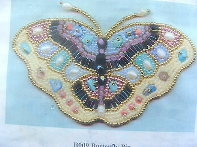 Beaded Butterfly Pin Kit