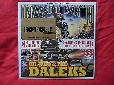 "Dr Who & The Daleks - 7"" Vinyl RSD 2011 release. Sealed"