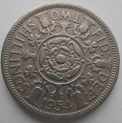 1954 Two Shillings