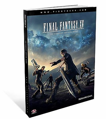 Final Fantasy XV Complete Official Guide Standard Edition PDF Book for PC MAC