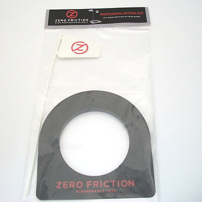 NEW Zero Friction Golf Professional Putting Cup Black
