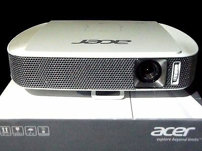 Acer C205 Portable LED Projector/ Beamer Ex-Display, Less than HALF RRP!