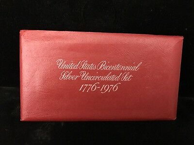 United States Bicentennial Silver UnCirculated Set