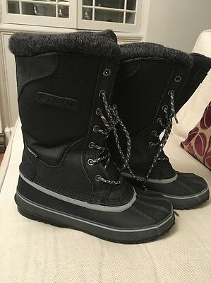 Mens Boys UK Size 7 Isoory Extreme Snow Boots with Thinsulate Lining.