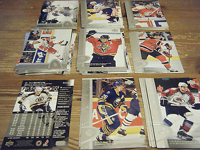 65    Upper Deck   1996 - 1997    American  Ice Hockey Cards Mint All Listed