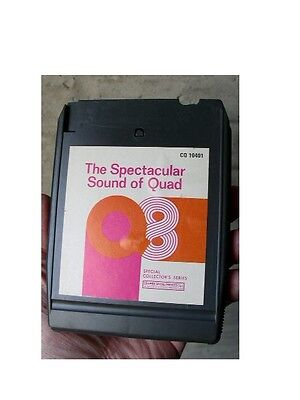 1972 The Spectacular Sound of Quad 8 track tape Quadraphonic 4 Channel Columbia