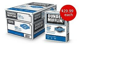 """Dunder Mifflin Copy Paper from the TV show """"The Office"""" ***show fans enjoy ***"""